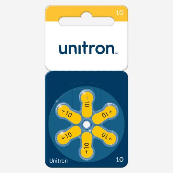 UNITRON baterijos <br>10 dydis